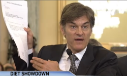 Dr. Oz in a congressional hearing